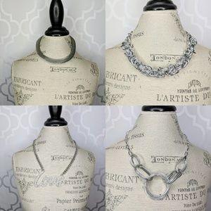 Bundle of 4 Statement Necklaces